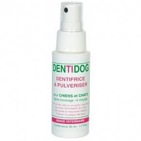 DENTÍFRICO EN SPRAY PARA PERROS Y GATOS  50 ML.