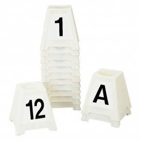 Base suplementaria para letra o número para obstáculos