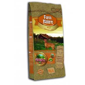FARM  NATURE  PAVO, POLLO  Y ARROZ -12,5 KG-GAMA  PREMIUM