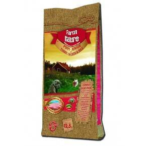PUPPY  FARM  NATURE .12,5 KG. PAVO, POLLO  Y ARROZ - GAMA PREMIUM