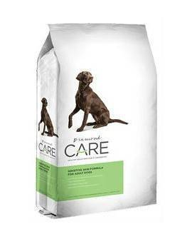 DIAMOND CARE SENSITIVE SKIN FOR ADULT DOGS. 3.630 KG.