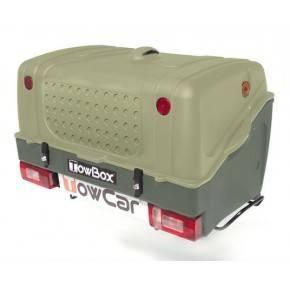 Towbox V1 Verde. Portaperros TowBox