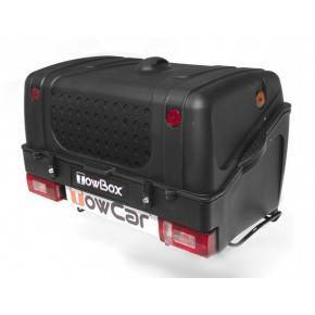 Towbox V1 Negro. Portaperros TowBox