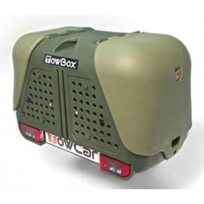 TowBox V2 Dog Verde portaperros