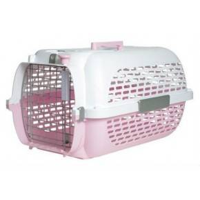 DOGIT PET VOYAGEUR MEDIANO ROSA/BLANCO 55X35X30 CM.