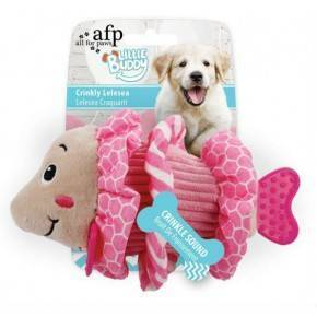 Juguetes para Cachorros LITTLE BUDDY Pez Rosa 18 cm