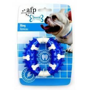Juguete DENTAL DOG Chews  Aro Azul- 10,3 cm