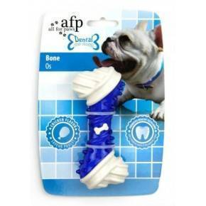 Juguete DENTAL DOG Chews  Hueso  Azul 13 cm