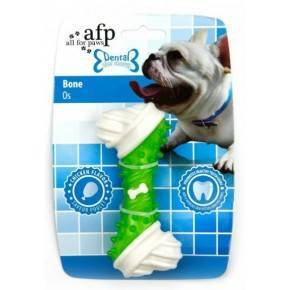 Juguete DENTAL DOG Chews  Hueso  Verde 13 cm