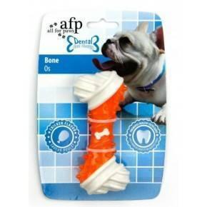 Juguete DENTAL DOG Chews  Hueso  Rojo 13 cm