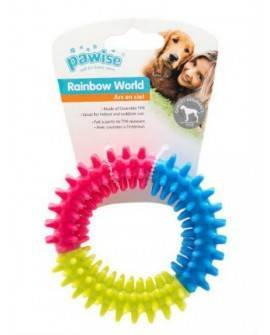 Juguete Rainbow Word Pawise Ring 11 cm