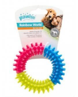 Juguete Rainbow Word PawiseRing 15,5 cm