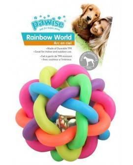 Juguete Rainbow Word Pawise-Pelota 7,5cm