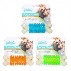 Juguetes Funny Chew Pawise-Ring  Naranja-10,5 Cm.