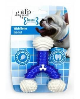 Juguete DENTAL DOG  AZUL. Chews  Hueso Deseo 12,5 cm