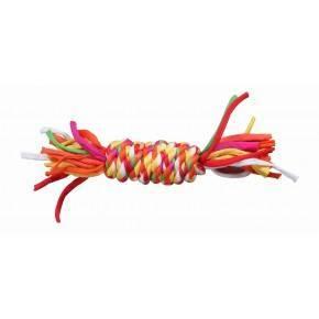 Mordedor Trenzado Multicolor Pawise-Hueso 27 Cm