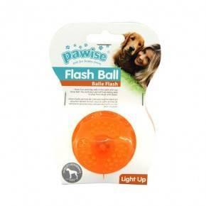 Juguete TPR Flash Pawise-Ball 6 cm