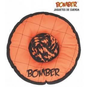 JUGUETE CON CUERDA BOMBER FLYER   20 CM.