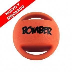 PELOTA CON ASAS BOMBER GRANDE 15  CM.
