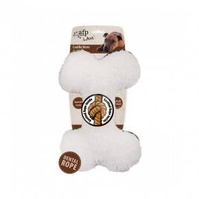 Peluches Animales LAMB DOG  Hueso 23 cm-Blanco