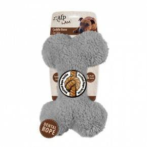 Peluches Animales LAMB DOG  Hueso 23 cm-Gris