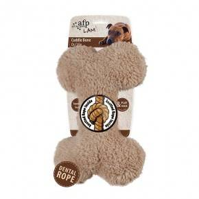 Peluches Animales LAMB DOG  Hueso 23 cm-Marron
