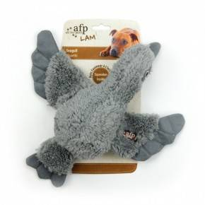 Peluches Animales LAMB DOG  Pájaros 30 Cm-Gris
