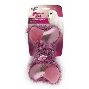 GLAMOUR DOG Peluche Hueso Candy 14 Cm