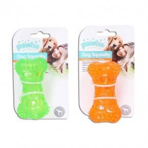 Hueso Squeaky Pawise  10 Cm