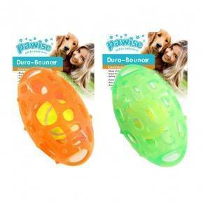 Dura Bouncer Juguetes Pawise Rugby 14 Cm.