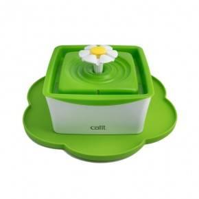 Catit  Mini Bebedero Flor 1,5 lts + Alfombrilla Flowe