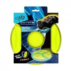 Frisbee 22,5 cm K-NITE iluminado