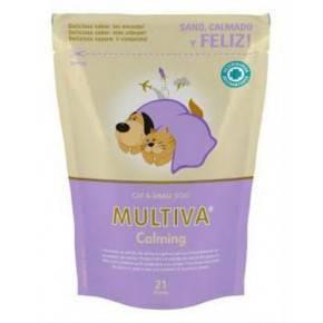 MULTIVA  Calming  21 CHEWS-GATOS Y PERROS PEQUEÑOS