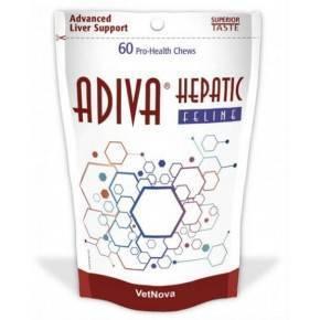 ADIVA Hepatic Feline  Suplementos Dietéticos  60 PREMIOS