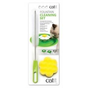Kit de limpieza para bebederos fuente Catit