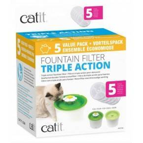 CATIT Cartucho Triple Accion  Beb. Flor 5pc