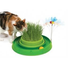 Catit Play Circuitos-Germinador con hierba