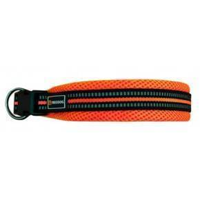Collar Soft Sport - Naranja Neon.25mm x 38 / 66 cm
