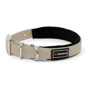 Collares  Ergo PVC  acolchados: Marrón: 25mm x 48/58cm