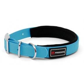 Collares  Ergo PVC  acolchados: Azul: 25mm x 48/58cm