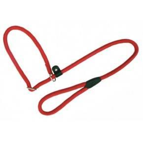 Collar - Correa  Nylon Redondo Rojo - 1,3x120cm