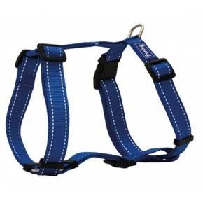 Arnés nylon reflectante Azul.1,5x30/50cm