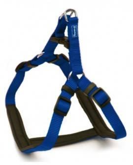 Arnés Ergo  de  Nylon acolchado  Azul: 25mm x 71-91cm