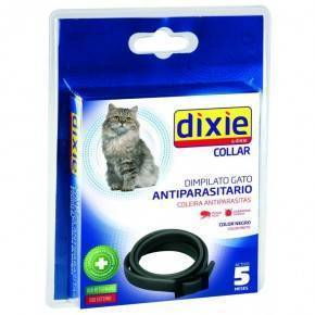 COLLAR  ANTIPARASITARIO   DIXIE  GATOS