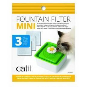 CATIT Cartucho Bebedero Mini Flor 3pc