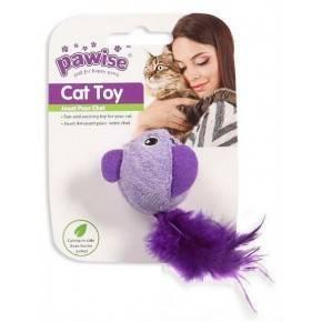 Juguetes Hi-Pile Gatos Pawise 15 Cm Pajaro-Violeta