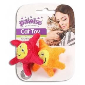 Juguetes Hi-Pile Gatos Pawise 15 Cm Estrella 2-Roja-Amarilla