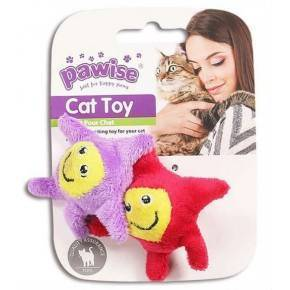 Juguetes Hi-Pile Gatos Pawise 15 Cm Estrella 2-Roja-Violeta