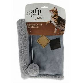 ALL FOR PAWS SACOS LAM CAT FELPUDO  GRIS