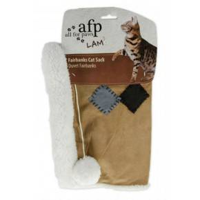 ALL FOR PAWS SACOS LAM CAT FELPUDO - CASTAÑO